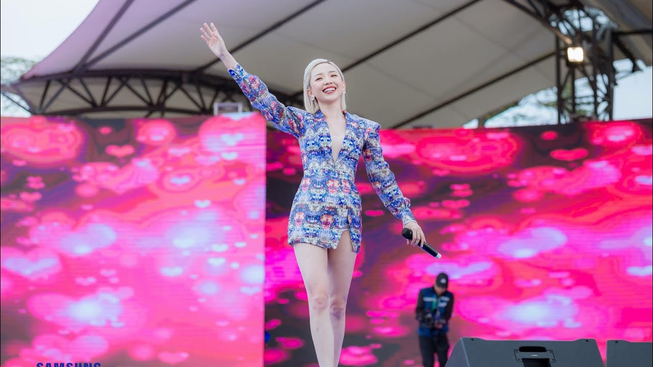 Tóc Tiên | live khủng tại SEV Festival 2108 – Bắc Ninh | #TocTien #Fairies #Fans !!