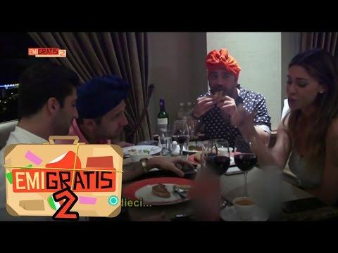 Emigratis 2 - Pio e Amedeo a cena con Belen e Andrea Iannone