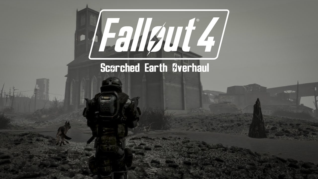 Fallout 4 - Scorched Earth Overhaul 2019 (Battlefield 1 inspired)