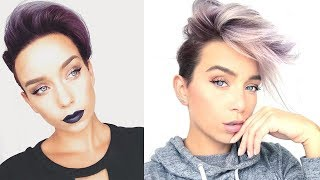 Top DIY Hairstyles For Short Hair   Amazing Hair Transformations Compilation