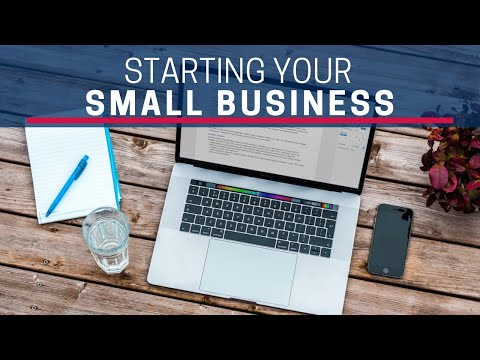 Starting Your Small Business Webinar - La Verne SBDC