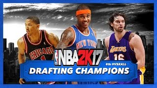 NBA 2K17 My League Fantasy Draft • DRAFTING CHAMPIONS • PS4 [Ep. 3]