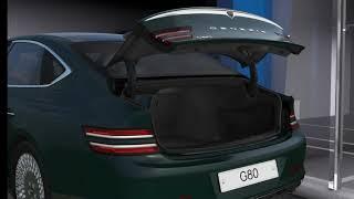 더 올뉴 제네시스 G80 전동트렁크 설명 (위너클래스)