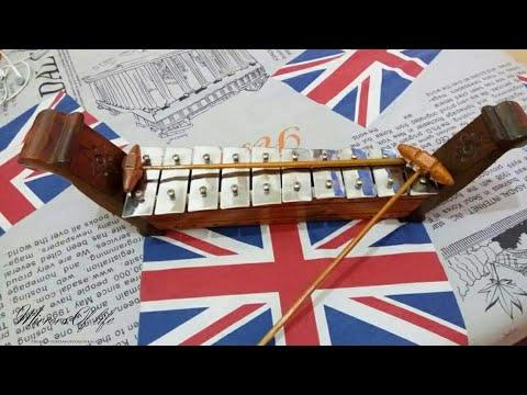 Mainan alat musik tradisional | Gamelan Mini (saron)