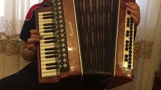 Калинка на аккордеоне урок 1