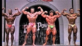 NABBA Universe 1989 - Professionals [Clairmonte/Kawak/Francis/Darton]