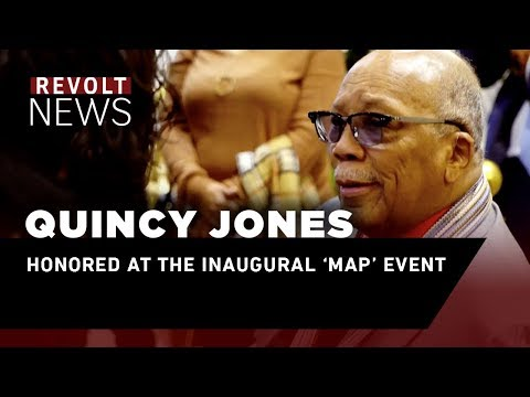Quincy Jones Honored at the Inaugural 'Map' Event