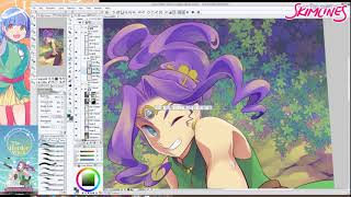 A spell in the Forest ♥ drawing time lapse