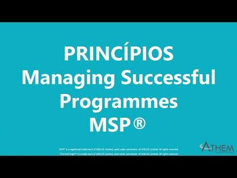 Princípios Managing Successful Programmes MSP®