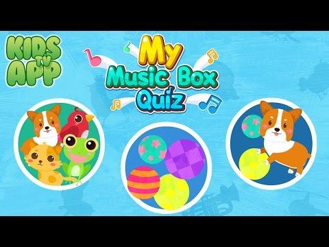 My Music Box Quiz (BABYBUS) - Best App For Kids