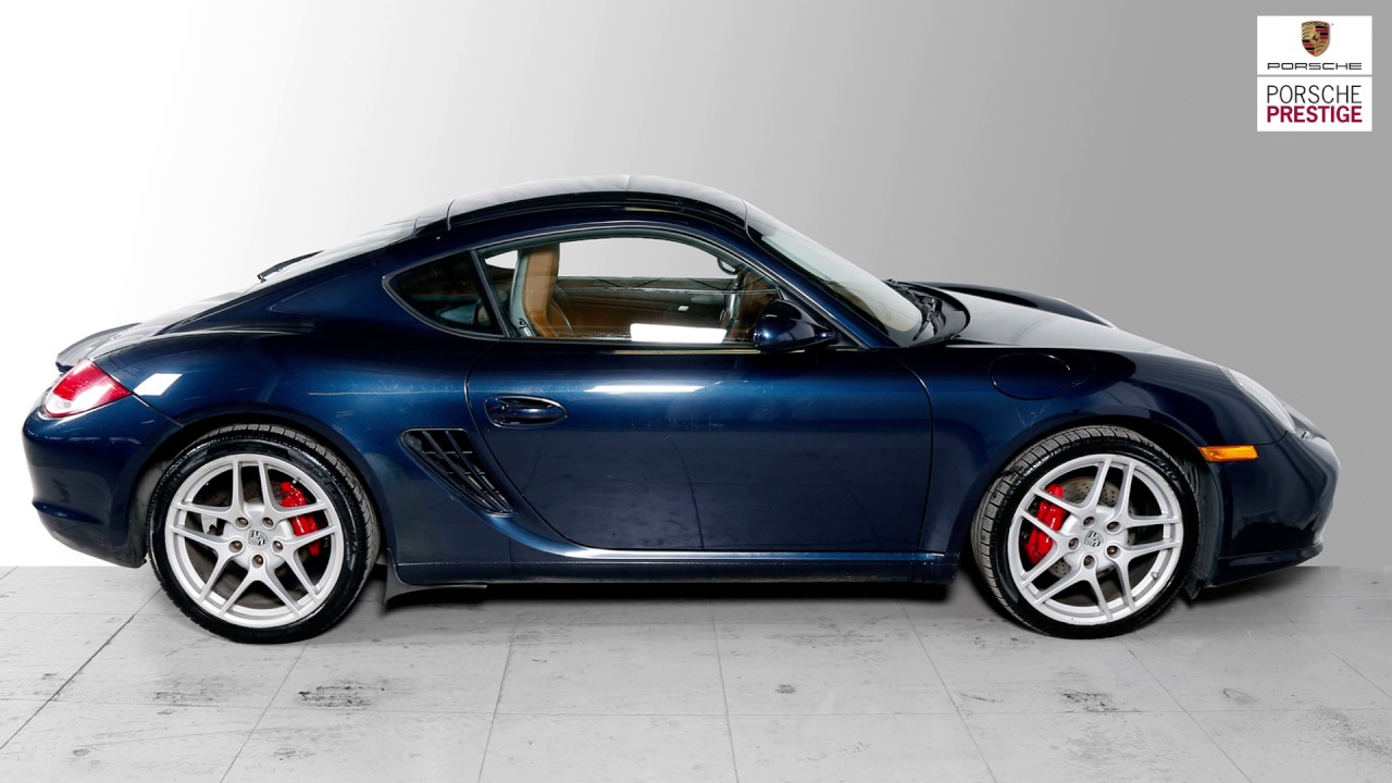 Pre owned vehicle 2010 porsche cayman s