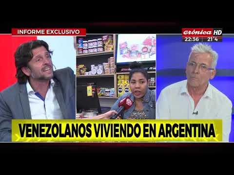 Venezolanos viviendo  en Argentina