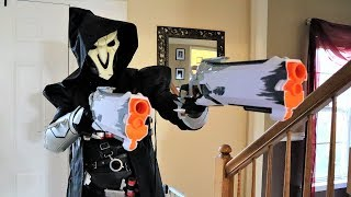 [Nerf Battle] The Reaper Works for the Game Master? (2019)