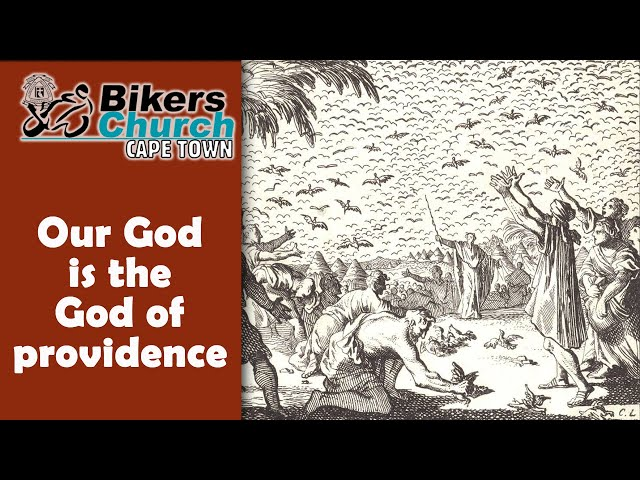 Our GOD is the GOD of Providence - Eddie Roos