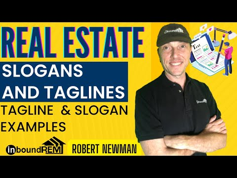 Real Estate Slogans and Taglines |  Tagline examples | Slogan Examples