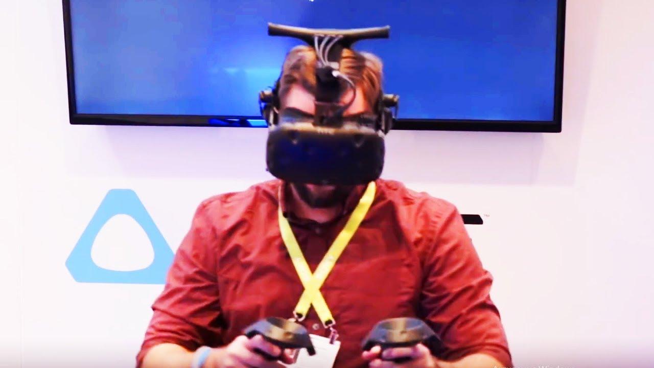 a4d6340695eb HTC VIVE WIRELESS ADAPTOR   VIVE PRO - HTC VIVE Announces  BEST VR  CES  2018. Portal Virtual Reality