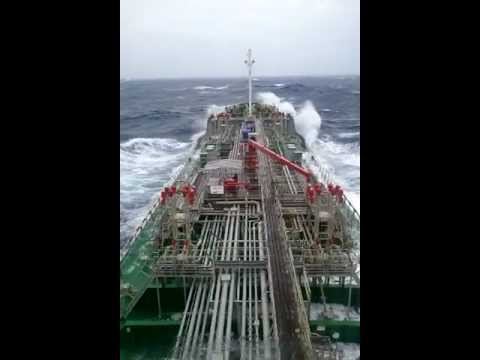 heavy weather navigation / chemical tanker