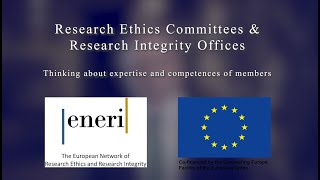 Research Ethics Committees & Research Integrity Offices - Thinking about expertise and competences o