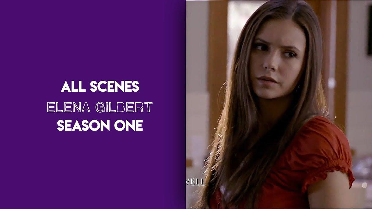 Download All Elena Gilbert scenes S1