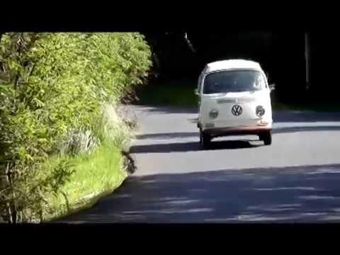Moonstruck VW Campervan Wedding Hire - Driving Miss Dorothy - 1970 T2 VW Camper -