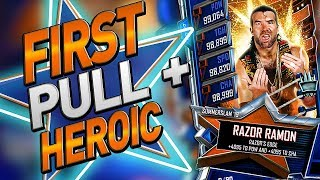 SUMMERSLAM 19 PULL! HEROIC GIANTS UNLEASHED DONE! WWE SUPERCARD S5
