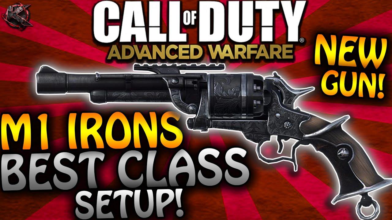 "Advanced Warfare - ""M1 IRONS"" BEST CLASS SETUP - NEW ..."