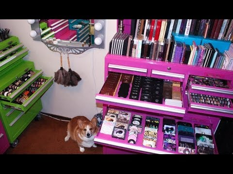 Pt. 2 Makeup Collection, Organization, & Storage 2014