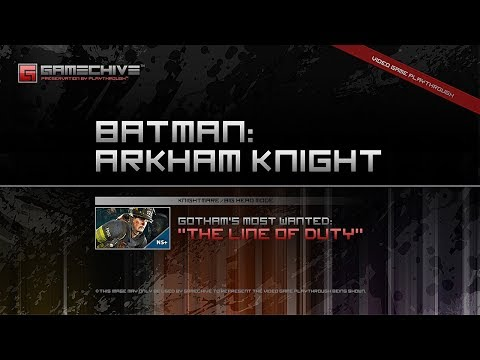 Batman: Arkham Knight (PS4) Gamechive (Gotham's Most Wanted: The Line of Duty) [NS+]