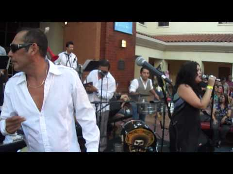 2012 The Autry Museum Son Mayor Salsa Band Live on Stage With Yours Truely DjReyCua TheeHotSpot! Hot