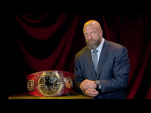 Triple H Reveals The New NXT North American Title: Exclusive, April 3, 2018