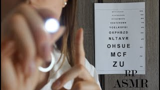 ASMR RP- Rdv Chez Ton Ophtalmo Visuel Gants...