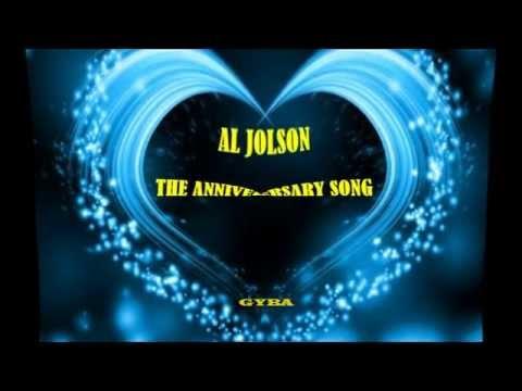 Al Jolson - The Anniversary Song [HQ Music]