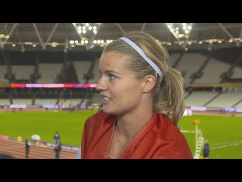 WCH 2017 London - Dafne Schippers NED 100 Metres Bronze