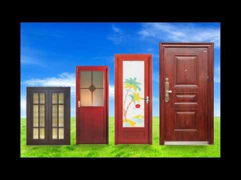 Aluminium doors design for bathroom