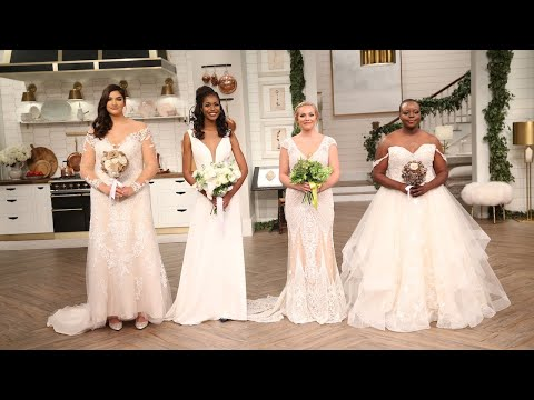Wedding Gowns Perfect for Brides of Every Size - Pickler & Ben