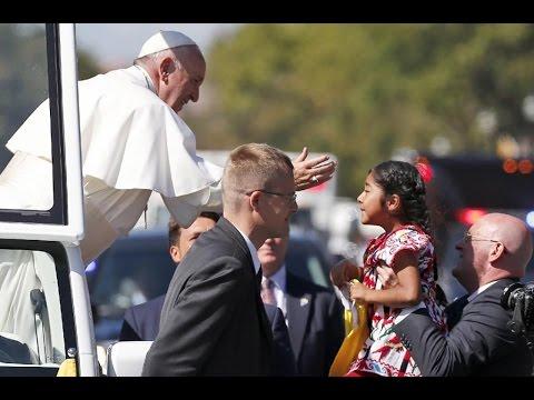 Girl Delivers Heartwarming Plea To Pope Francis