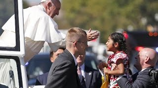 Girl Delivers Heartwarming Plea To Pope Francis