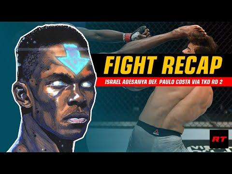 FIGHT RECAP: Israel Adesanya Sang Maestro Striking #UFC253