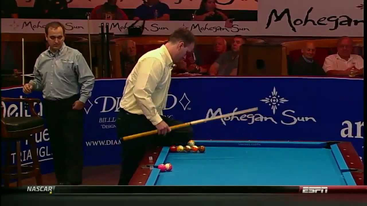 [HD] Billiard World Cup of Trick Shot 2012 - USA vs Europe Part 2