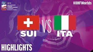 Switzerland vs. Italy | Highlights | 2019 IIHF Ice Hockey World Championship