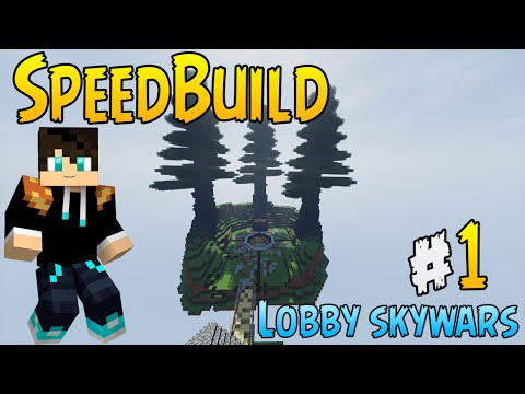 [SpeedBuild] SkyLobby / SkyWars Lobby [Download]