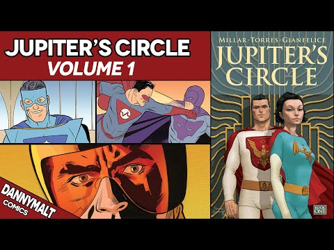 Jupiter's Circle - Volume 1 (2015) - Full Comic Story & Review