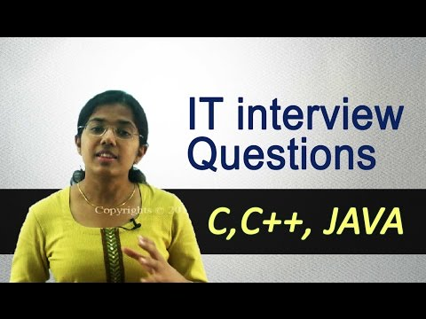 Popular IT Interview Questions by Google, Microsoft, Facebook - C/C++ Programming