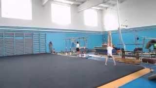 Спортивная гимнастика. Вольные упражнения Gymnastics. Floor Exercise. Men.