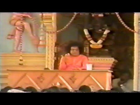 Divine Discourse of Bhagawan Sri Sathya Sai Baba with English Subtitles- Krishna Janmashtami 1995