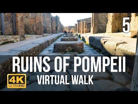 Pompeii Virtual Walk in 4K Part 5