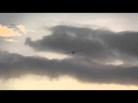 Scratch-built Skywalker Test Flight at Brittany R/C Field