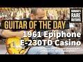 Vintage vs Modern: 1967 + 2003 Epiphone Casinos - YouTube