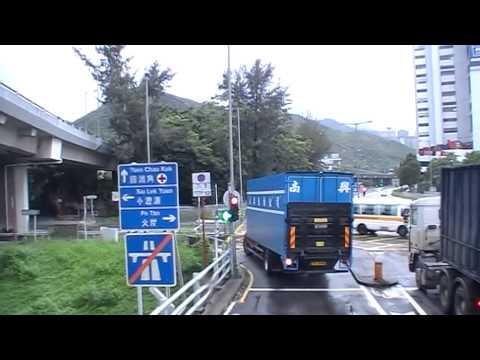 KMB S ATENU304 SU3504@89D 烏溪沙鐵路站-藍田鐵路站 - YouTube