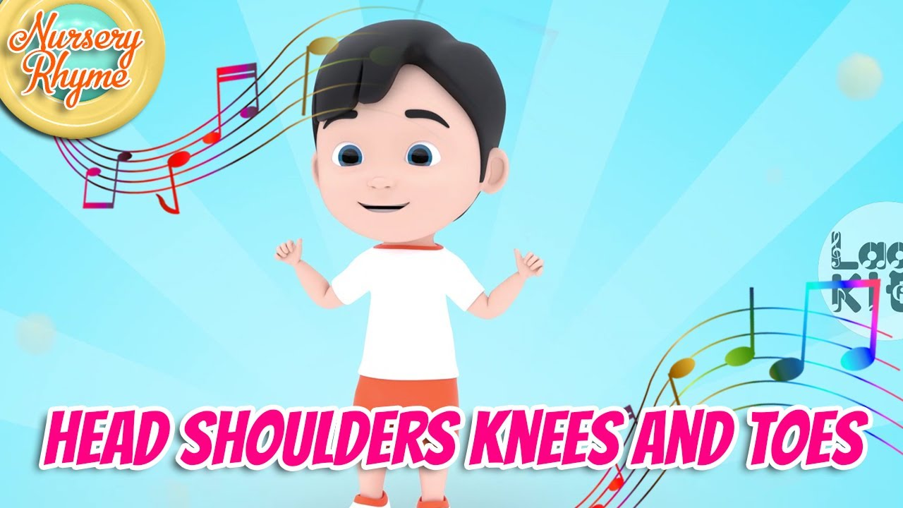 Head Shoulders Knees and Toes - Nursery Rhyme | Lagu Kita